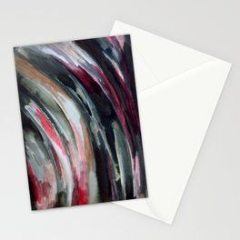 Abstract Ink Smear  Stationery Cards