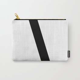 Backslash Symbol (Black & White) Carry-All Pouch