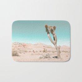 Vintage Desert Scape // Cactus Nature Summer Sun Landscape Photography Bath Mat
