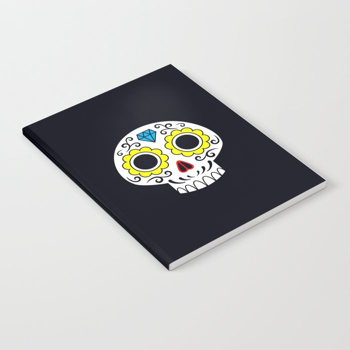 Sugar skull for a cake Notebook
