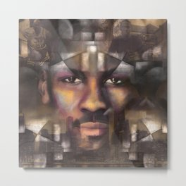 The King of the court Metal Print