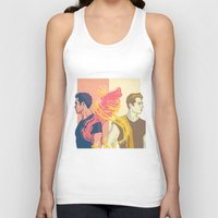 stiles Tank Tops featuring derek and stiles by steammmpunk
