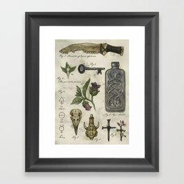 (Super)natural History - 01 Framed Art Print