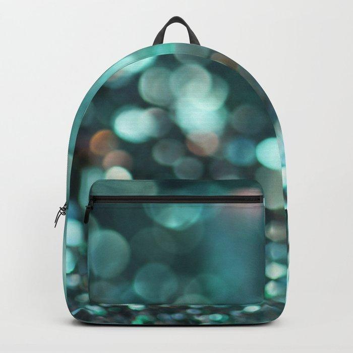 MERMAID GLITTER EMERALD Backpack