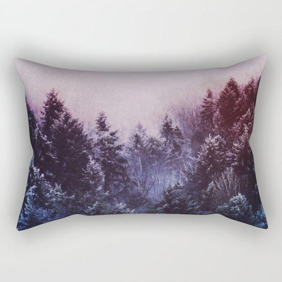 Winter sound Rectangular Pillow