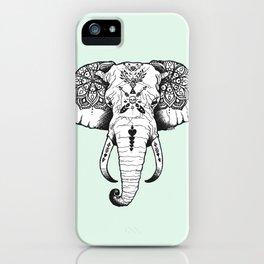Elephant Tattooed iPhone Case