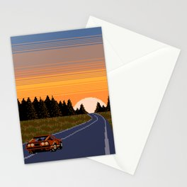 Longing to Return Home Stationery Cards