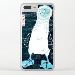 Phil Boobie Clear iPhone Case