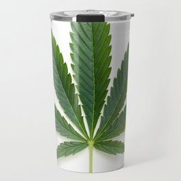 Cannabis/Marijuana/Weed leaf Travel Mug