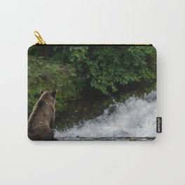 Grizzly contemplation Carry-All Pouch