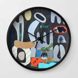 Rock Garden Wall Clock