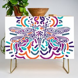 Colorful Fly Credenza