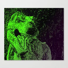 Flashy T-Rex  Canvas Print