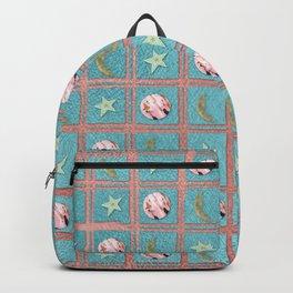 Celestial Plaid Backpack