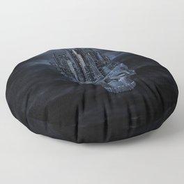 Dark city Floor Pillow