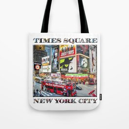 Times Square NYC (poster edition) Tote Bag