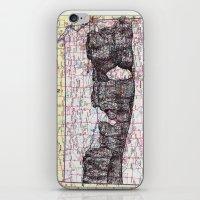 kansas iPhone & iPod Skins featuring Kansas by Ursula Rodgers