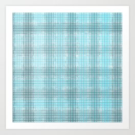 Cell pattern Art Print