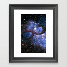 Infinty and Beyond Framed Art Print