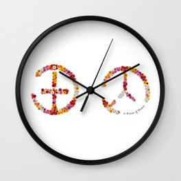 """A brand new - must have - """"IT-PEACE"""" - Living Hell Wall Clock"""