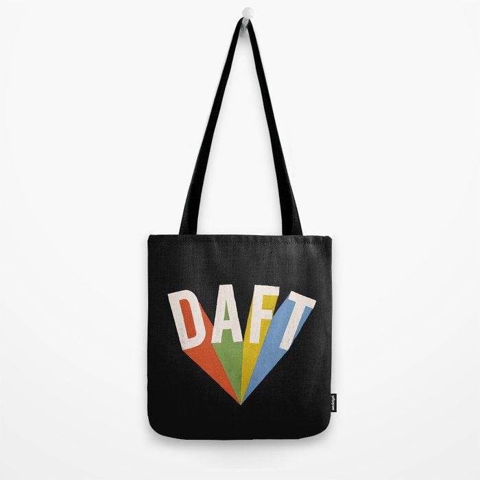 Letters : Daft II Tote Bag