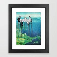 High Attitude Framed Art Print