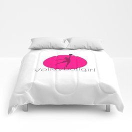 Volleyballgirl Volleyball sports gift idea Comforters