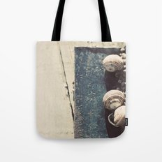 Snail family Tote Bag