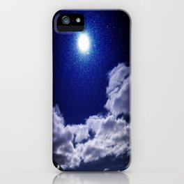 Signs in the Sky Collection I- in its original deep blue iPhone Case
