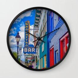 Historic Color Wall Clock