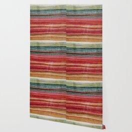 Ethnic fabric Wallpaper