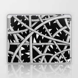 Cords and Spikes Laptop & iPad Skin