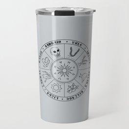 Pagan Calendar Line Travel Mug