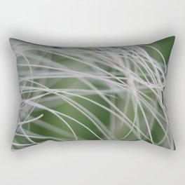 Rainforest Palm Tree Leaf Close Up  Rectangular Pillow