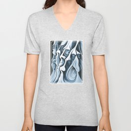 Mountain Faces Unisex V-Neck