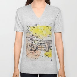 The Old Shed Out the Back Unisex V-Neck
