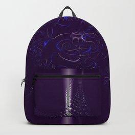 Collision on Indigo Backpack