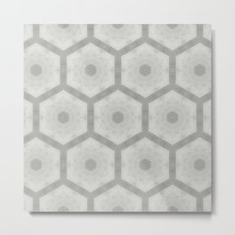 Pencil honeycomb Metal Print