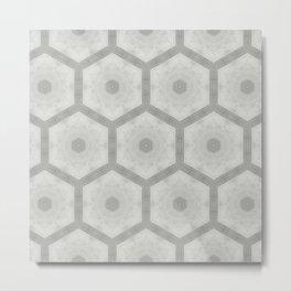 Pencil honeycomb Metal Print