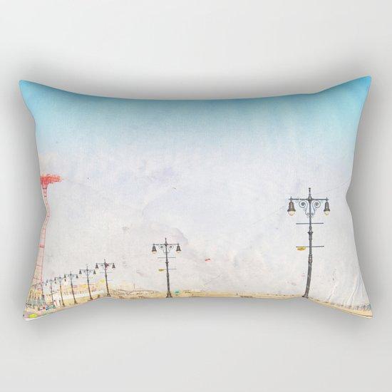 Brooklyn's Eiffel Tower Rectangular Pillow