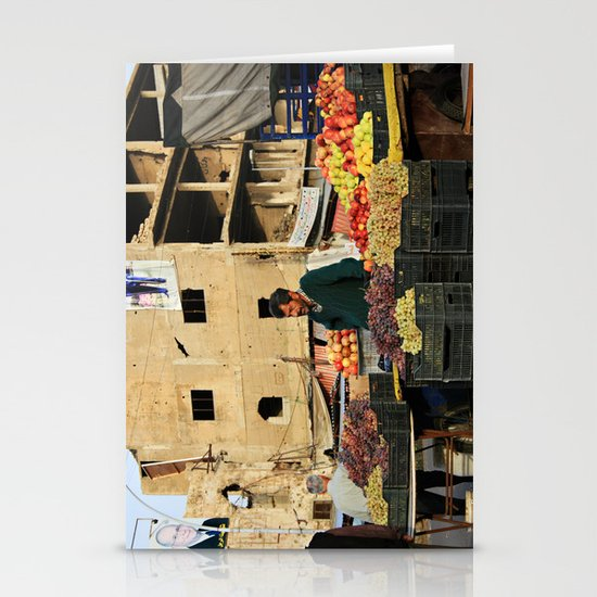 Fruit Vendor; Tripoli, Lebanon. Stationery Cards