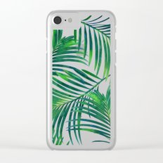 Palm Paradise #society6 #decor #buyart Clear iPhone Case
