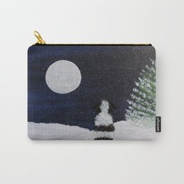 Winter Moon Gazer Carry-All Pouch