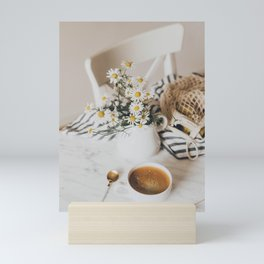 But First, Coffee IV Mini Art Print