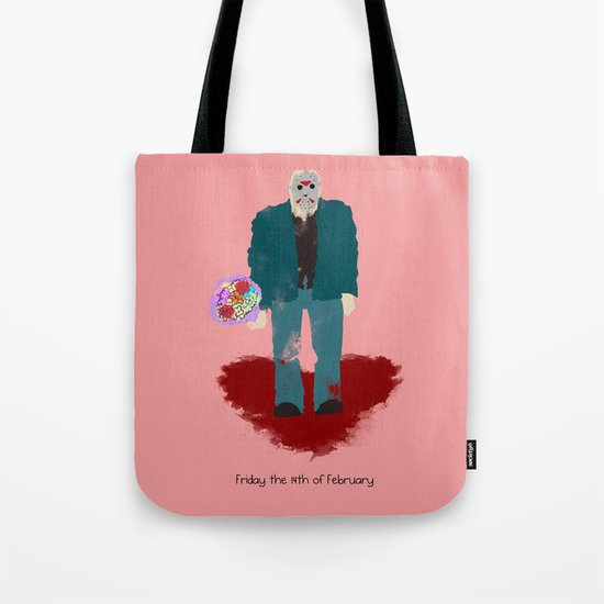 Friday the 14th of February (Monsters in Love) Tote Bag