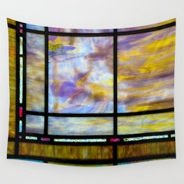 All The Colors Held Together Wall Tapestry