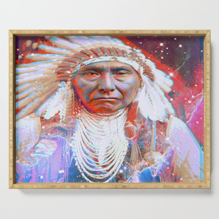 Crazy Horse Serving Tray