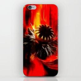 Mohnblüte iPhone Skin