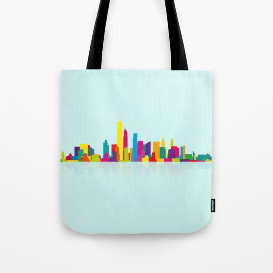 New WTC Skyline Tote Bag
