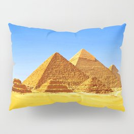 The Pyramids At Giza Pillow Sham